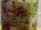 Nakládaný sýr Akavi s olivami recept