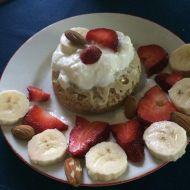 Fitness mug cake recept