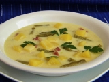 Vydatná fazolková polévka recept