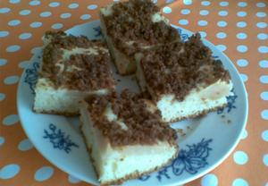Kyprý jablkový koláč