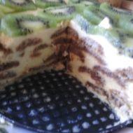 Tvarohovo-smetanový dort bez pečení recept