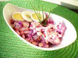 Salát z červené řepy s vajíčkem recept