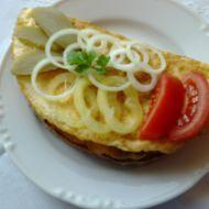 Vaječná smaženka s chlebem recept