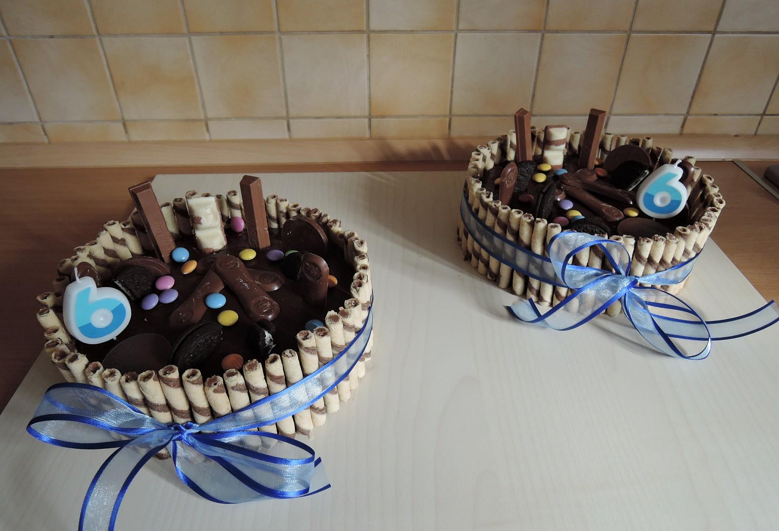 Dětský dort s ganache recept
