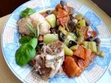 Pikantní kuřecí na hořčici s paprikou a rajským recept