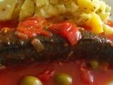Makrela po řecku recept