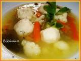 Královská polévka se zázvorovo-vinnými knedlíčky recept ...