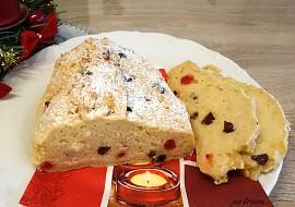 """Vánoční """"tvarohová"""" štola s tofu bez lepku, mléka a vajec recept ..."""