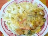 Kuřecí kousky na zelenině recept