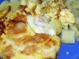 Zapečená kuřecí prsa se žampiony a nivou recept