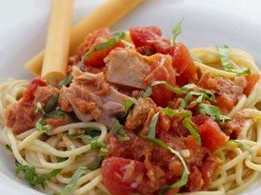 Špagety Al tonno