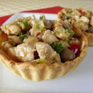 Košíčky plněné kuřecí směsí recept