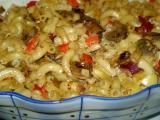 Zapečené těstoviny se sojovou smetanou  vegan recept ...