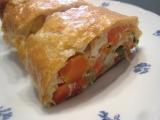 Zeleninový štrúdl recept