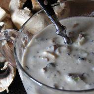 Žampionová smetanová polévka recept