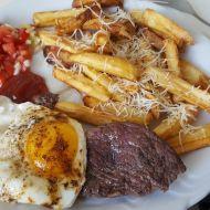 Pravý steak z hovězího roštěnce recept