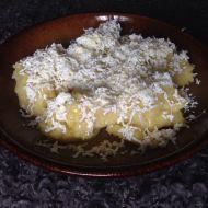 Škubánky s tvarohem na slano recept