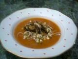 Studená rajčatovo-cuketová polévka recept