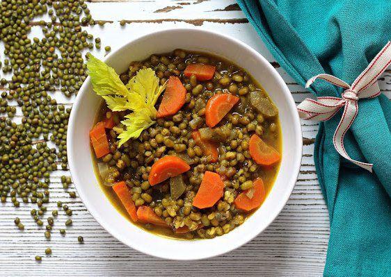 Polévka z mungo fazolí recept