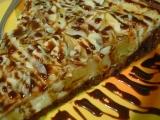 Hruškový koláč s tvarohem recept