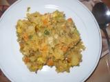 Rychlý zeleninový oběd recept
