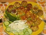 Grilované cukety a opékané brambory recept
