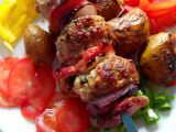 Bucharský šašlik a bochánky z mletého masa recept