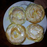 Věnečky s vanilkovým krémem recept