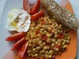 Lahodná cizrna s česnekem recept
