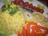 Rybí filet na citronu (Parní hrnec) recept