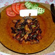 Medové kuře s mandlemi recept