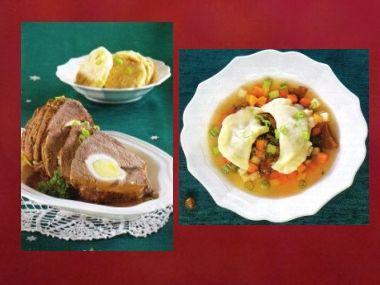 Sváteční oběd 47  Srnčí polévka a Štěpánská pečeně