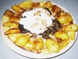 Dýně grilovaná s brambory a brokolicí recept