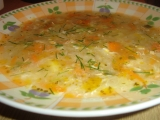 Kedlubnová polévka s vejcem recept