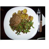 Biftek s fazolovými lusky recept