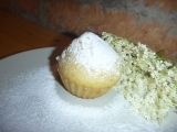 Muffiny s bezovým květem recept