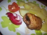 Rybí závitek se šunkou, cibulkou a libečkem recept