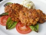 Harissové kuřecí placičky recept