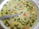 Smetanovo-sýrová polévka s hlívou recept