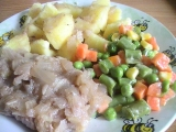 Veprove platky s porkem recept
