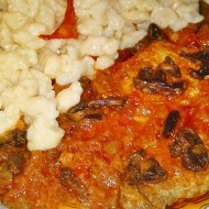 Maďarské bakoňské vepřové plátky recept
