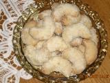 Voňavé kokosové rohlíčky recept