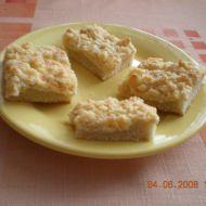 Piškotová buchta s tvarohem recept