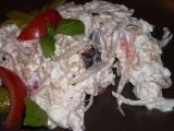 Falešný rybí salát recept