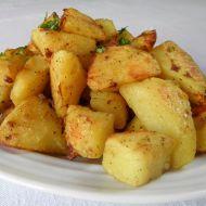 Ochucené gratinované brambory recept