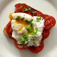Španělská topinka se ztraceným vejcem recept