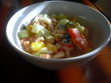 Vydatný zeleninový salát