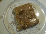 Karamelový řez recept