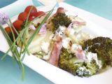 Zapékané brambory s brokolicí recept