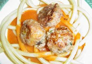 Italské masové kuličky se špagetami